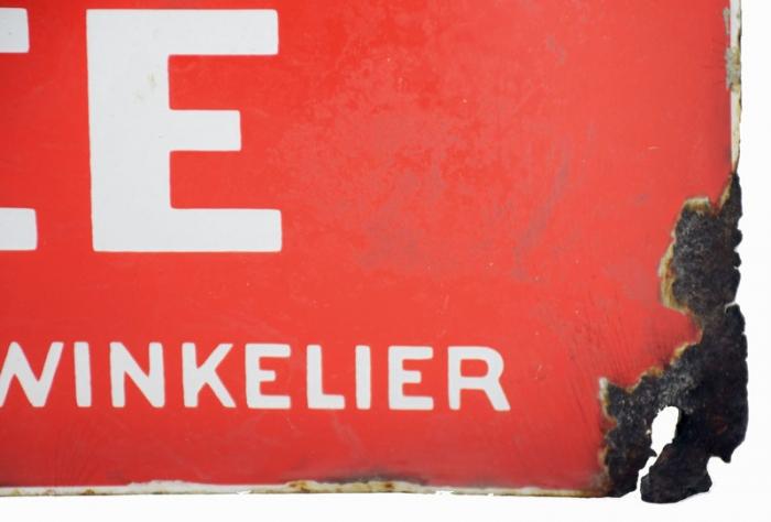 Van Nelle's Gebroken Thee enamel sign