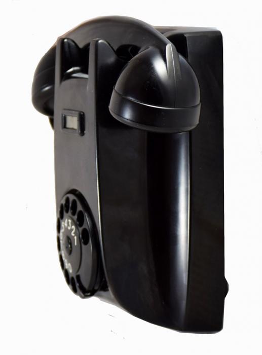Wand telefoon bakeliet PTT e. c 8