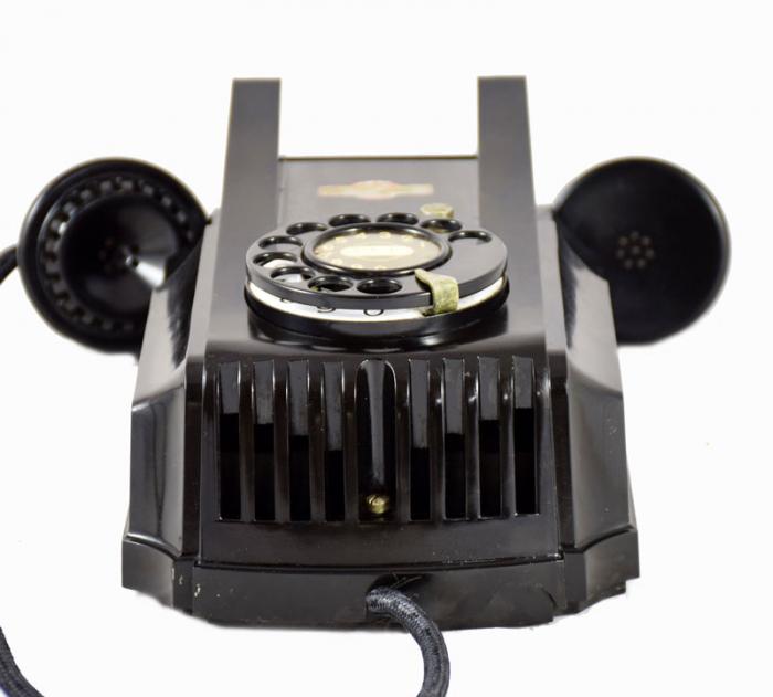 Wandtelefoon bakeliet Atea