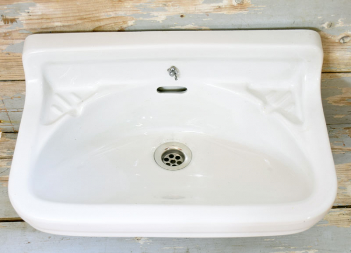 Antique lavatory sink b.b 6