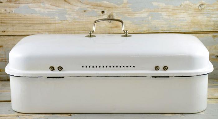 Broodtrommel wit e. w 2