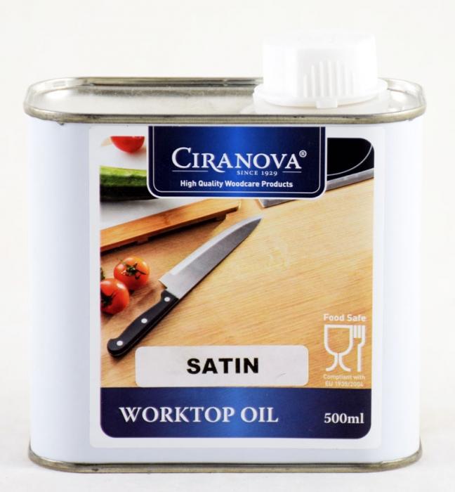 Ciranova work top oil satin