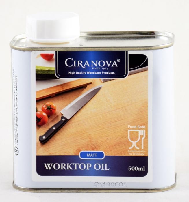 Ciranova work top oil matt