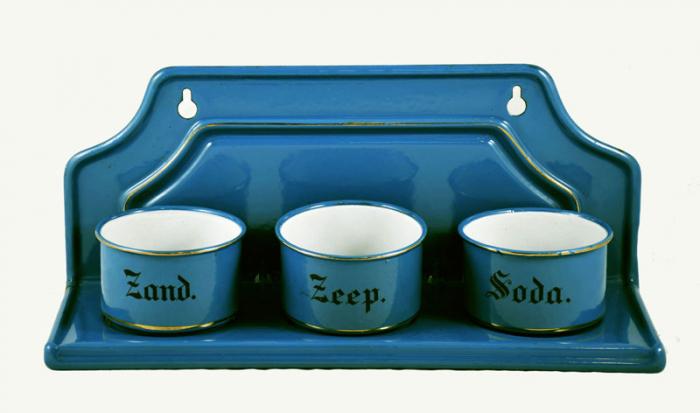 Zand zeep soda keukenrek e. bl 6