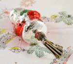 Kerstman op knijper k. f 24