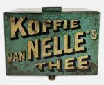 van Nelle's  Koffie Thee winkelblik c. b 10