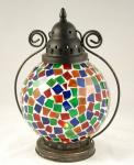 Tiffany lamp rood
