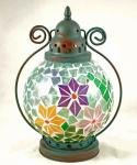 Tiffany lamp turkoois