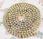 Kralenslinger zilver k. s 9