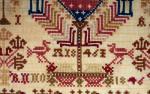 Borduurlap anno 1846  t d 4
