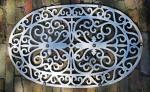 Ovale witte deurmat td. g 24