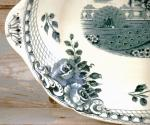 Peacock serving dish  ag d 13