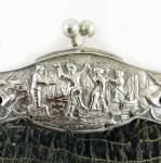 Zilver tasbeugel met tas zg. z 9